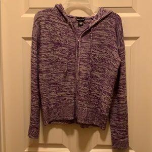 Wet Seal Ladies Sweater Cardigan Hoodie